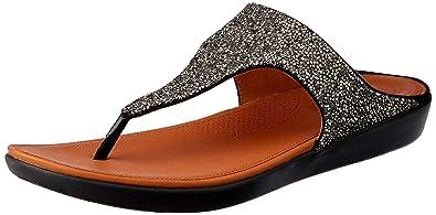 cfcca5372 Amazon.com  FitFlop Women s Banda Ii Quartz Sandal  Shoes