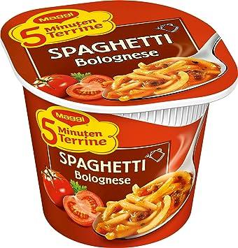 Maggi 5 Minuten Terrine Spaghetti Bolognese 62 g