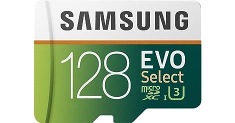 Samsung EVO Select 128GB Class 10 UHS-I U3 microSDXC Card only $19.99