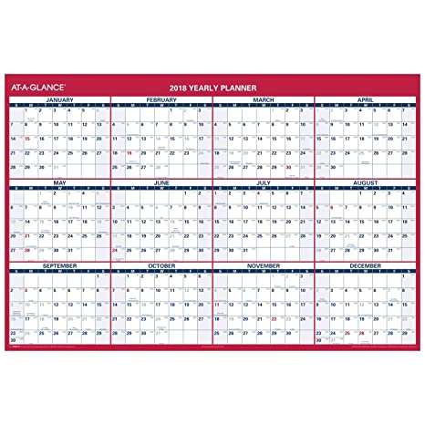 january 2018 calendar vertical