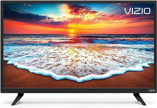 VIZIO - Televisor LED inteligente (D32h-F1) (32 pulgadas, clase HD (720p), color rojo: Amazon.es: Electrónica