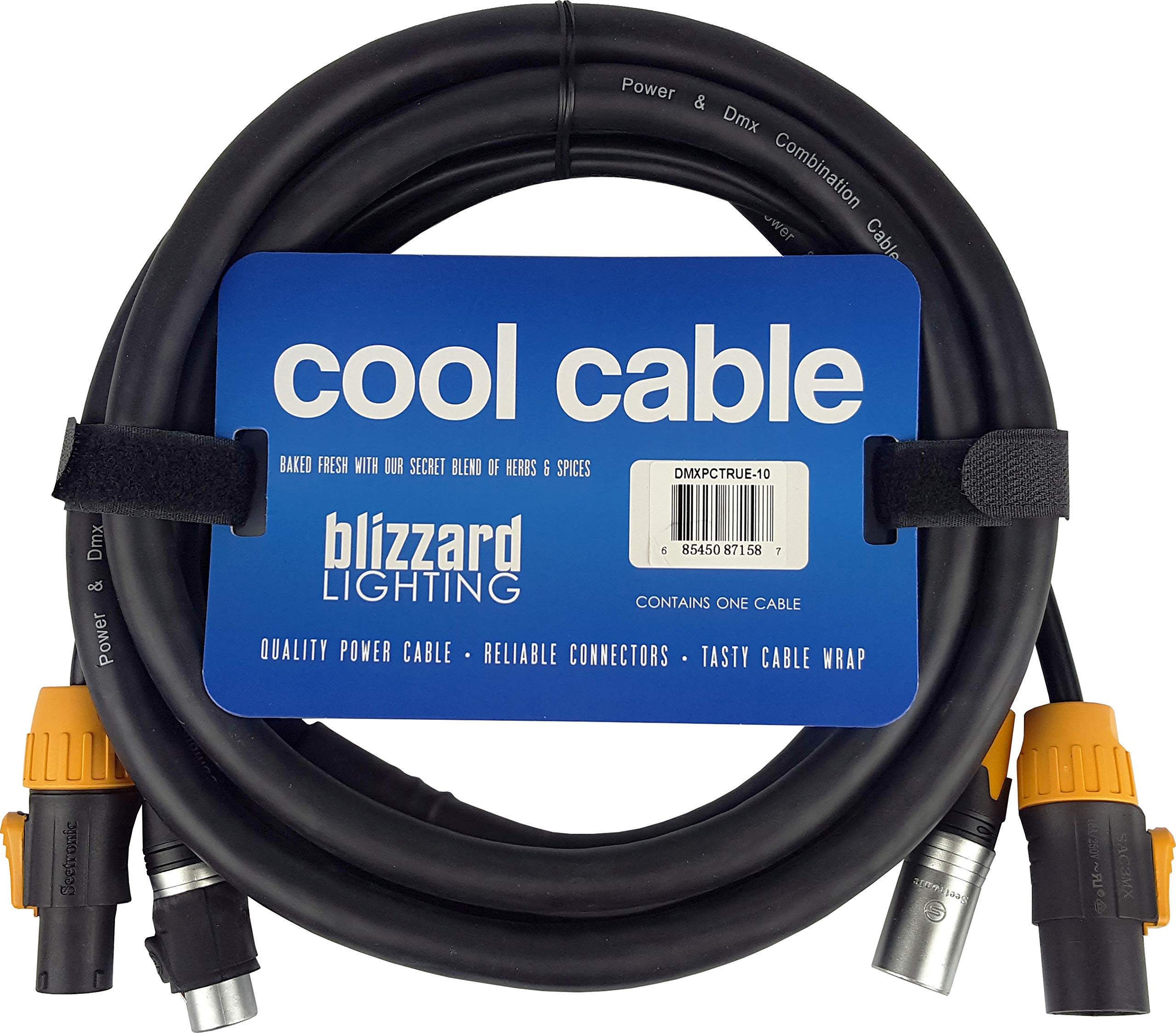 Blizzard Lighting Cool Cables True1 Compatible + DMX Combo (10ft/3-pin)
