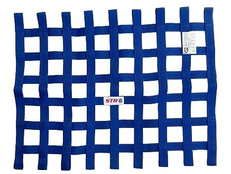 STR estándar rectangular ventana red de seguridad/malla, ovalada/Autograss Racing