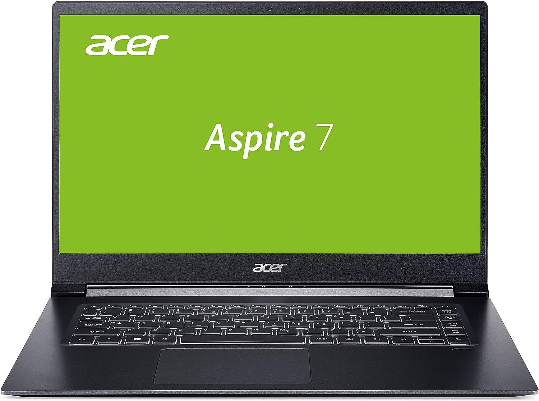 Acer Aspire 7 (A715-73G-56YJ) 39,6 cm (15,6 inch Full-HD IPS mat) multimedia/gaming laptop, zwart