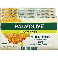 Palmolive Naturals Bar Soap Replenishing Milk and Honey, 4 x 90g