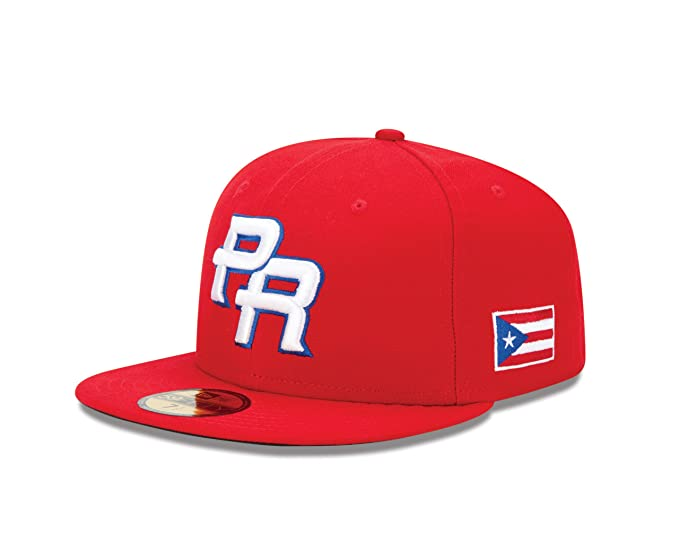Amazon.com   World Baseball Classic 2013 Puerto Rico Official On-Field 5950  Fitted Cap 7e7407fb570