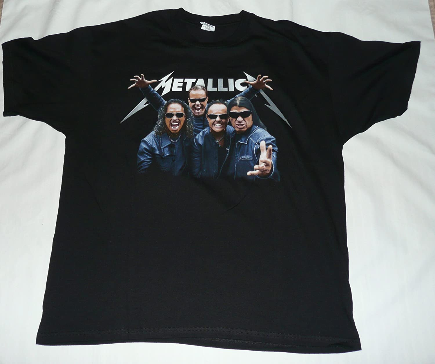 2009 Metallica Concert T Shirt Vintage XL Death Magnetic World Tour Vintage