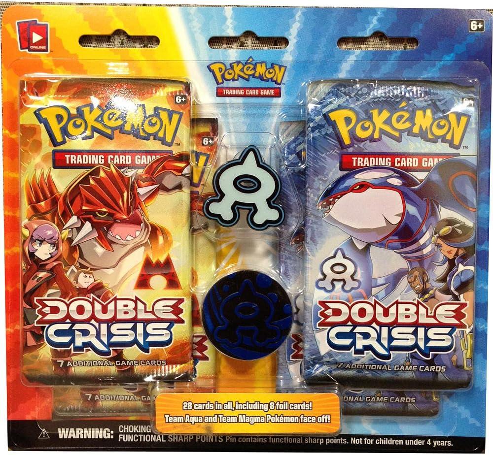PoKéMoN – 331812 – Juego de Tarjetas – Double Crisis 4BB – C24: Amazon.es: Juguetes y juegos