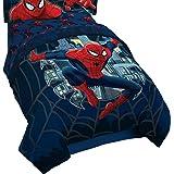 Marvel Spiderman Saving The Day Blue Twin/Full Reversible Comforter