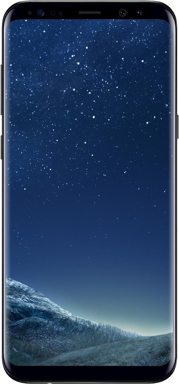 Samsung Galaxy S8+ Smartphone, 64 GB, Nero (Midnight Black) [Versione Italiana]