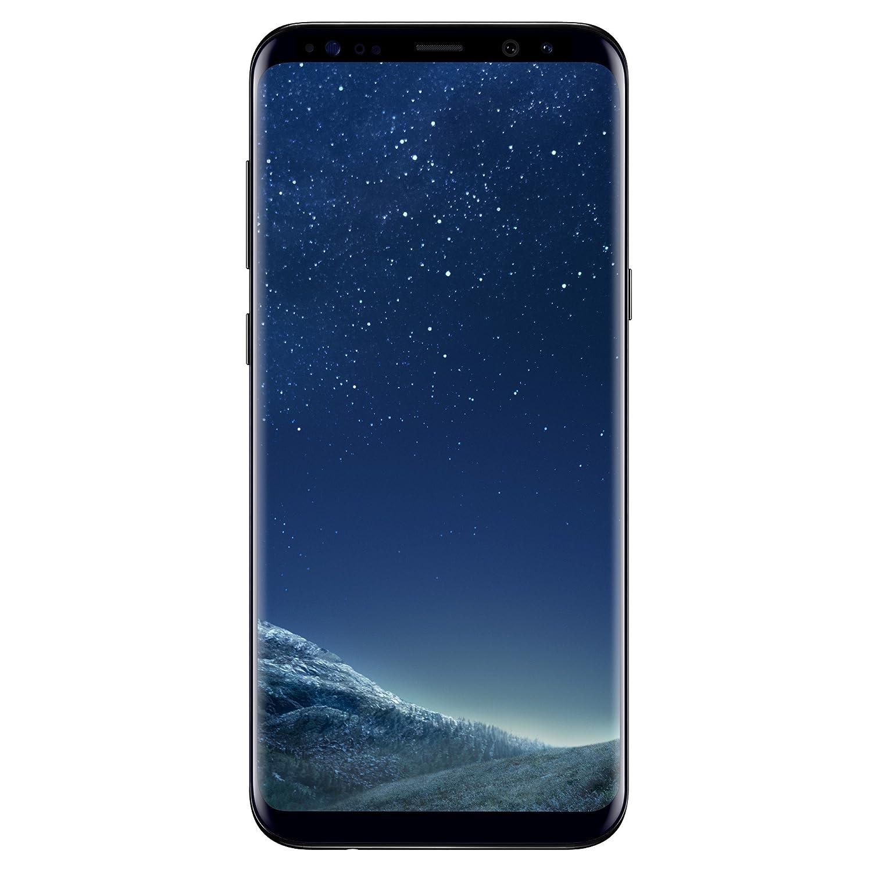 Samsung Galaxy S8 + Smartphone, 64 GB, Negro (Midnight Black) [versión en inglés]