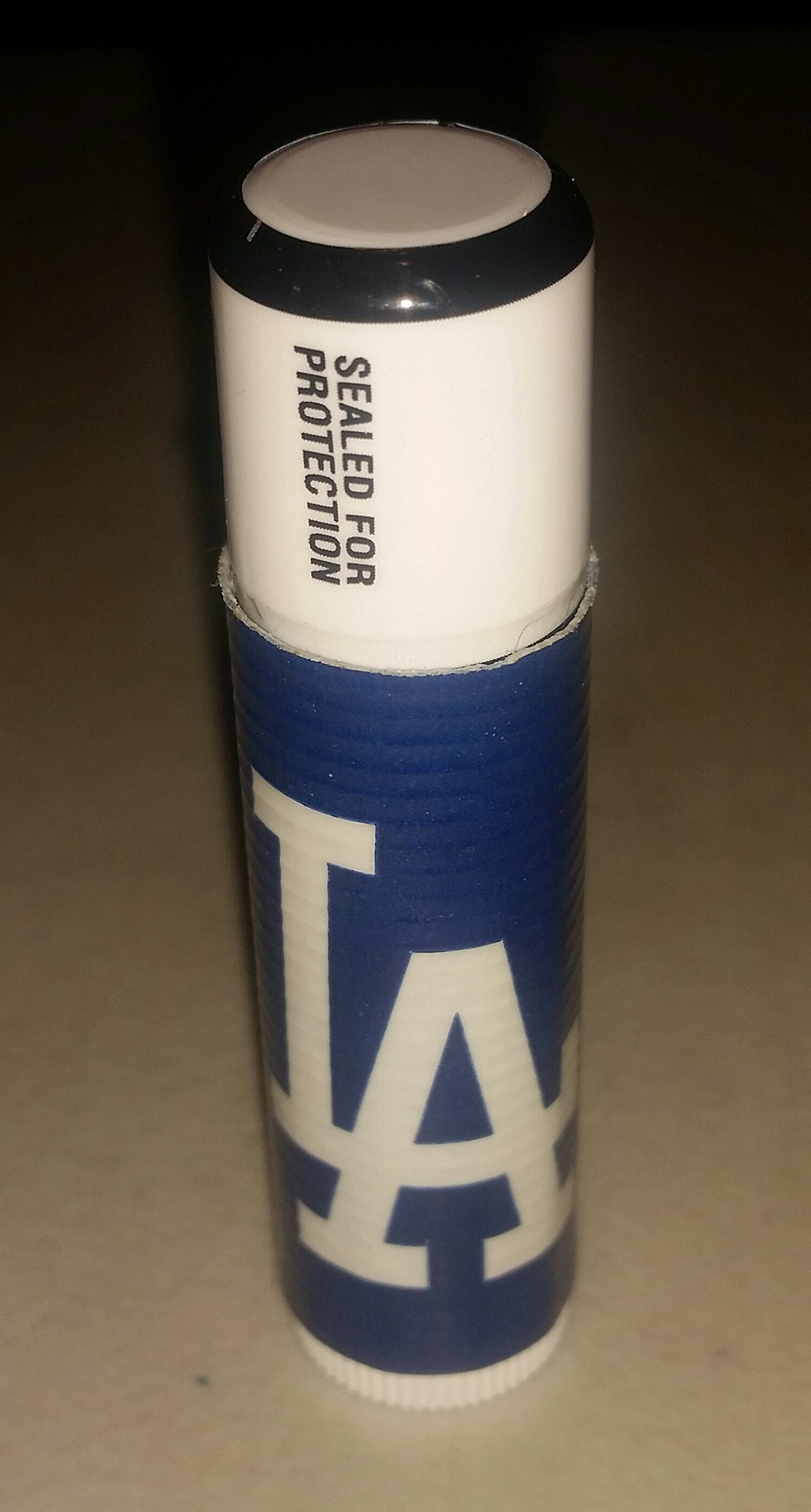 5 LA Dodgers Los Angeles MLB Chap Stick Lip Balm five pack pieces BULK by In a Sticky Situation