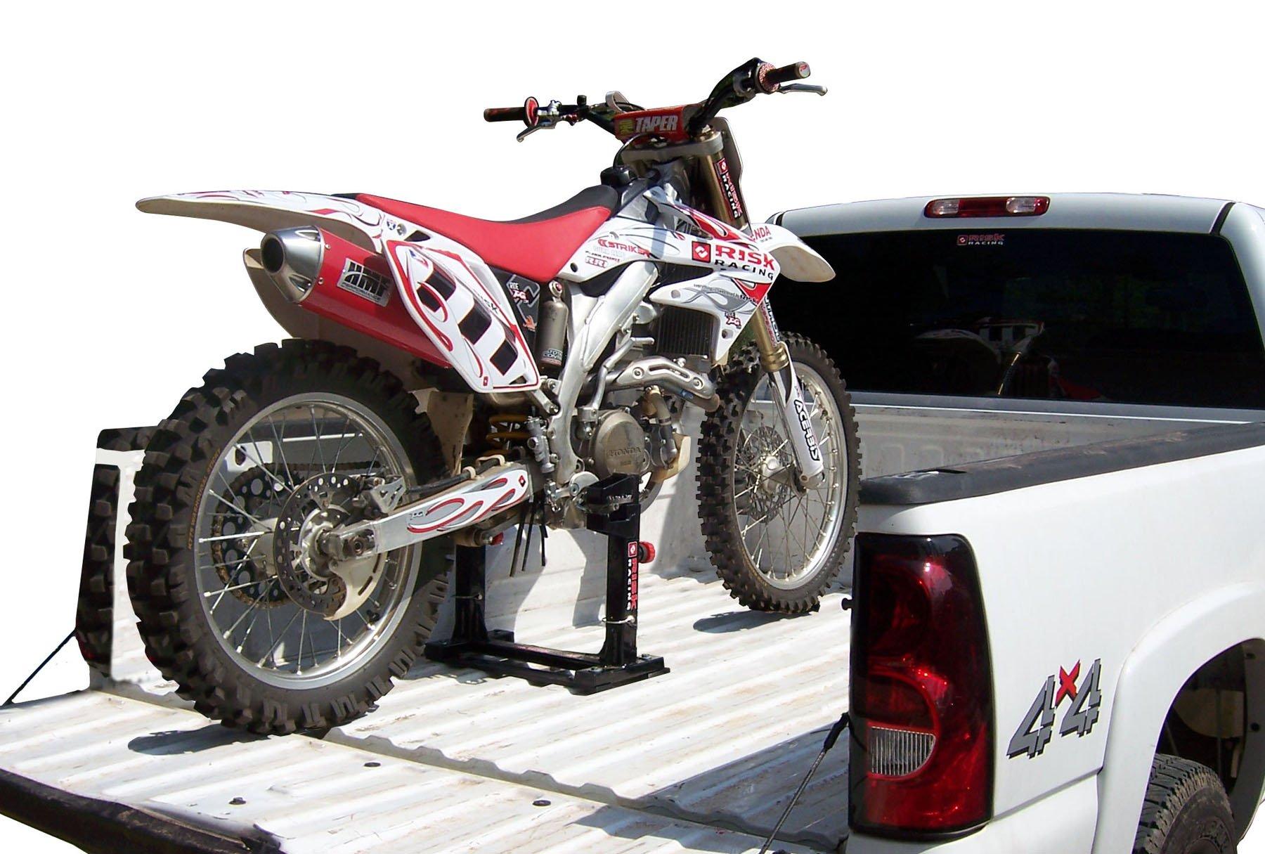 Risk Racing Black Lock-N-Load Strapless Motocross Transport System