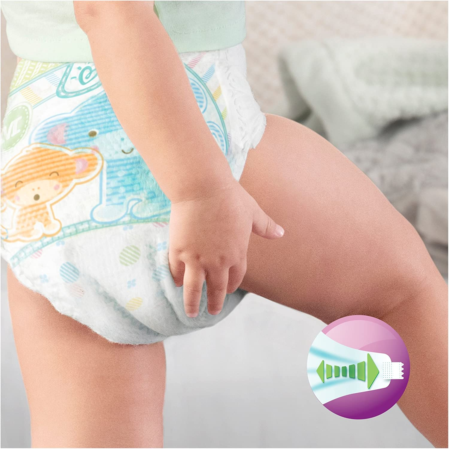 Pampers Active Fit Couches Taille 4/ 1/x 82/pi/èces Mega Plus 8/–16/kg 1er Pack
