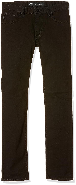 Vans V76 Skinny Boys - Jeans Hombre, color negro (overdye black), W27/L26