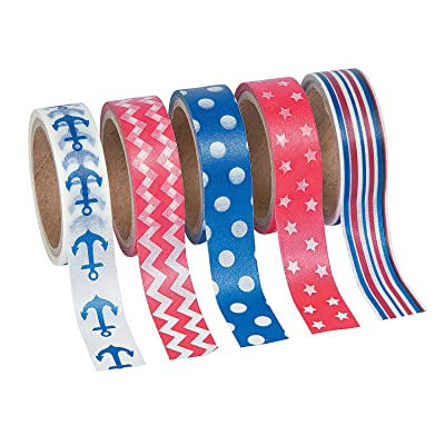 Nautical Washi Tape - Crafts for Kids and Fun Home Activities: Toys & Games