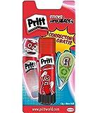 Pritt - Pack barra adhesiva 43 gr + corrector Micro Rolli 5mm x 6m