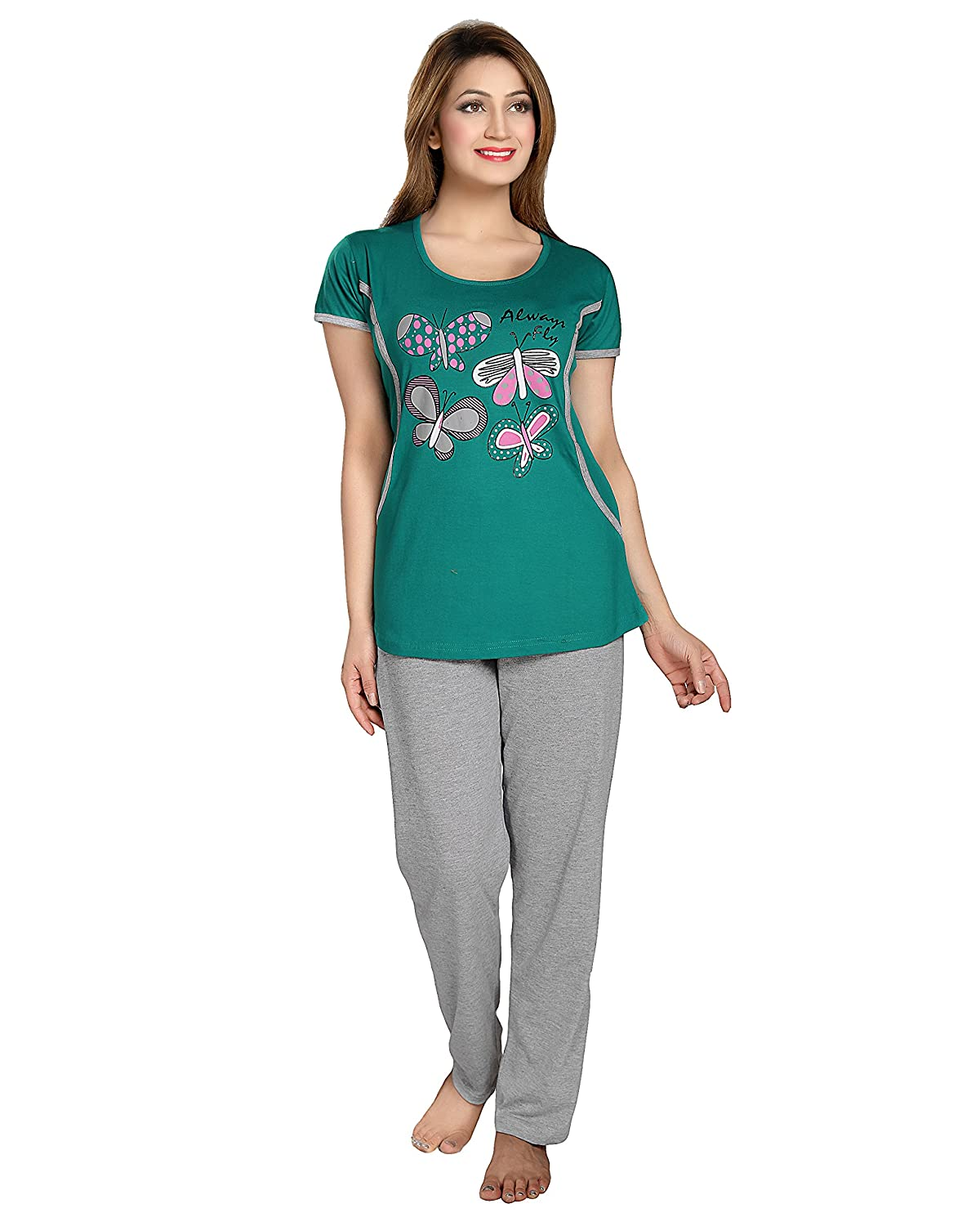 Night Suit: Buy Pajamas For Women online at best prices in India ...