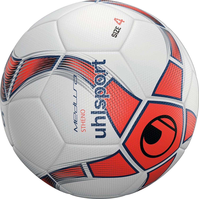 uhlsport Medusa STHENO Balón fútbol, Juventud Unisex, White/Fluo ...