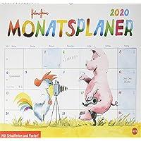 Helme Heine Monatsplaner 2020 44x34cm