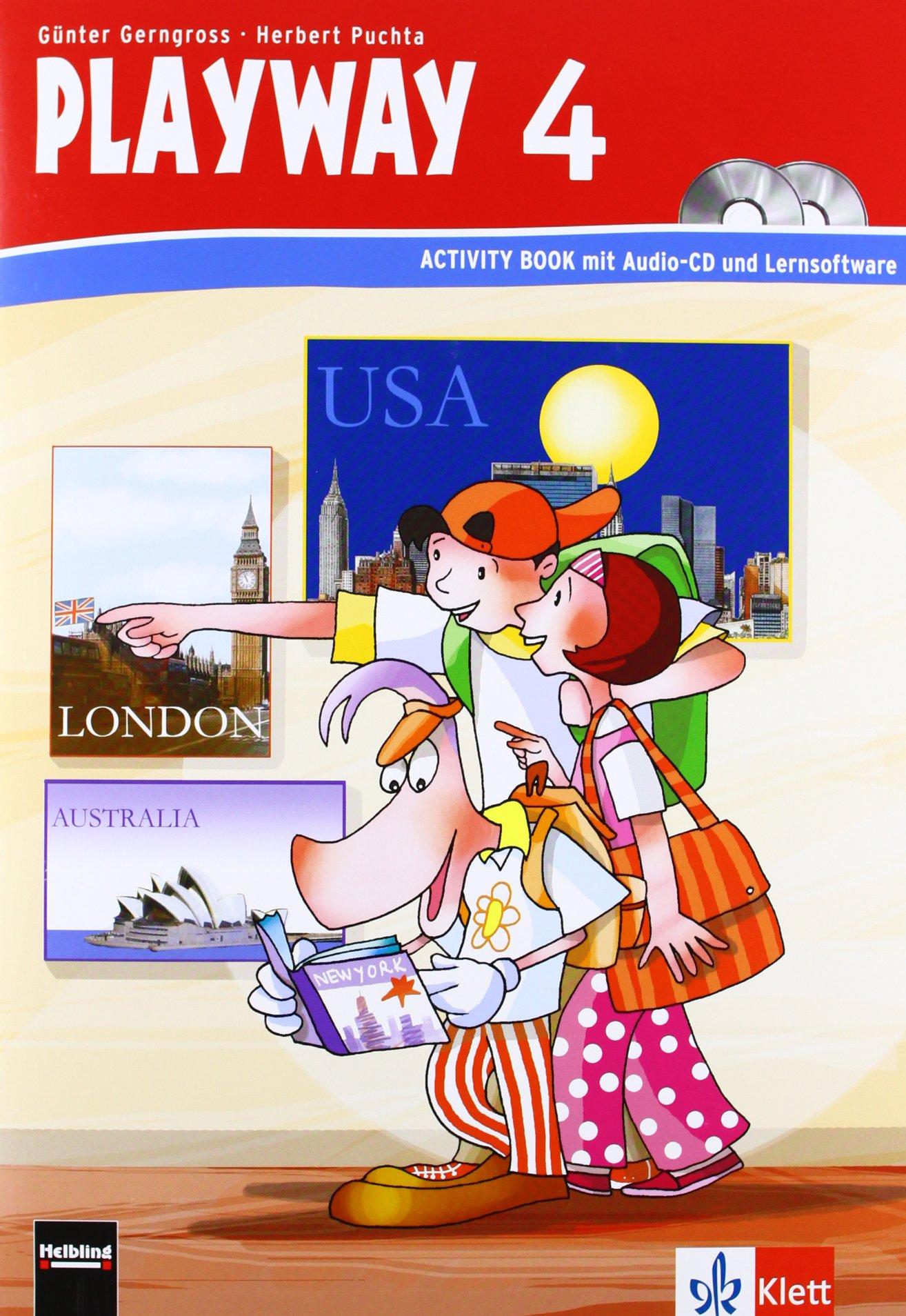 Playway. Für den Beginn ab Klasse 3 / Activity Book mit CD-ROM 4. Schuljahr - Neubearbeitung