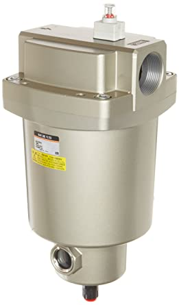 SMC AFF serie Mainline Filtro de aire comprimido, elimina aceite, agua, partículas,
