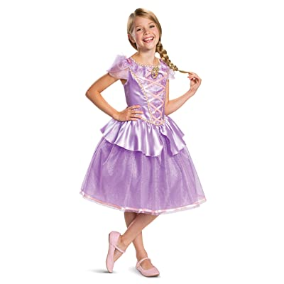 Disney Princess Rapunzel Classic Girls' Costume, Purple: Toys & Games