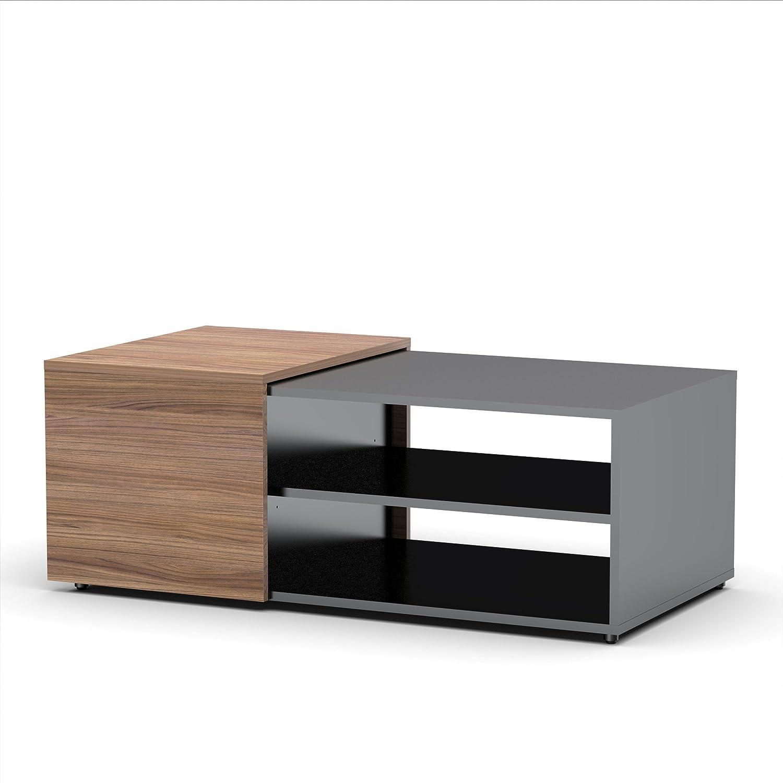 Amazon Next Coffee Table from Nexera Black and Walnut