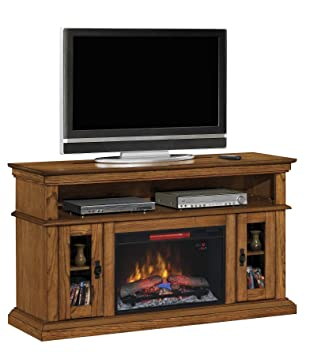Amazon.com: ClassicFlame 26MM2209-O107 Brookfield TV Stand for TVs ...