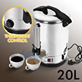 20 Litre Electric Stainless Steel Catering Hot Water Boiler Tea Urn Commercial