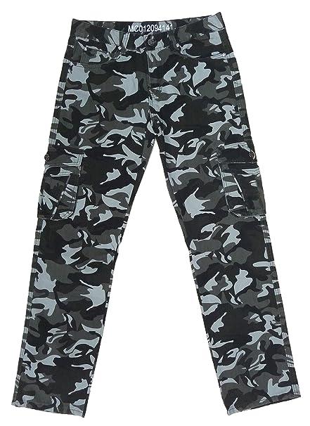 di prim'ordine 65c29 cd747 Pantalone Mimetico Militare Uomo,Caldo Cotone Interno  Felpato,Tasche,Inverno Caccia Cacciatore
