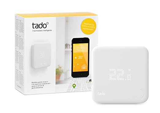 164 opinioni per tado° Termostato Intelligente Kit di Base (v2)