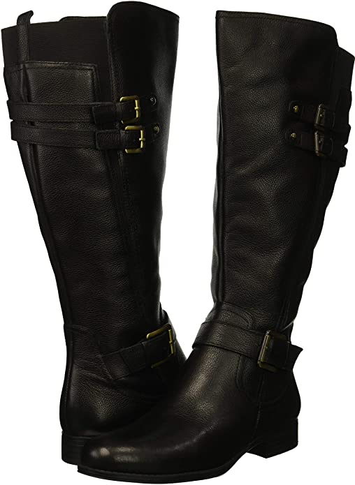 cdeaf13e3d5 Naturalizer Womens Jessie Wide Calf Knee High Boot  Amazon.ca  Shoes    Handbags