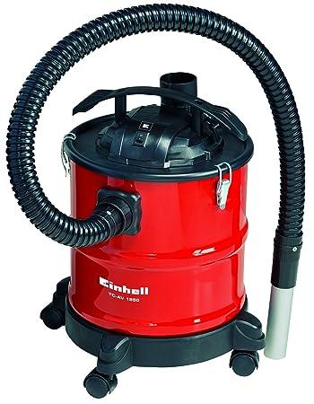 Einhell TC-AV 1250 1250W 20L Negro, Rojo - Aspiradoras de cenizas (20 L, Sin bolsa, Negro, Rojo, 1,2 m, Metal, 3,6 cm): Amazon.es: Bricolaje y herramientas