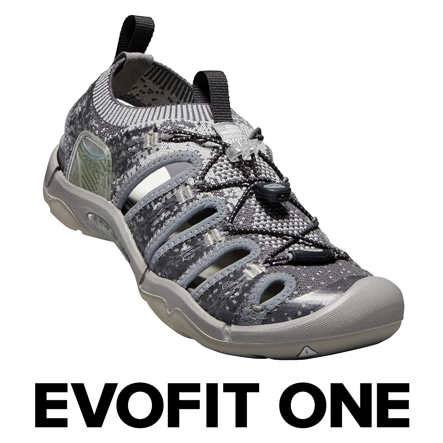 KEEN Women's EVOFIT ONE Water Sandal for Outdoor Adventures B071R4YS44 10 M US|Paloma/Raven