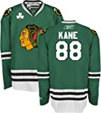 Patrick Kane Chicago Blackhawks Youth Kelly Green Premier Jersey by Reebok