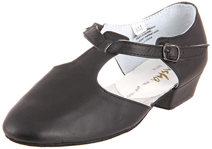 Retro Vintage Flats and Low Heel Shoes Sansha Womens Diva Dance Shoe $30.00 AT vintagedancer.com