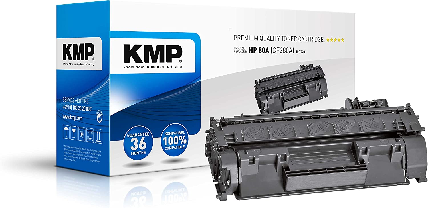 KMP T233 Toner for HP Laserjet Pro 400 Printer M401, Black