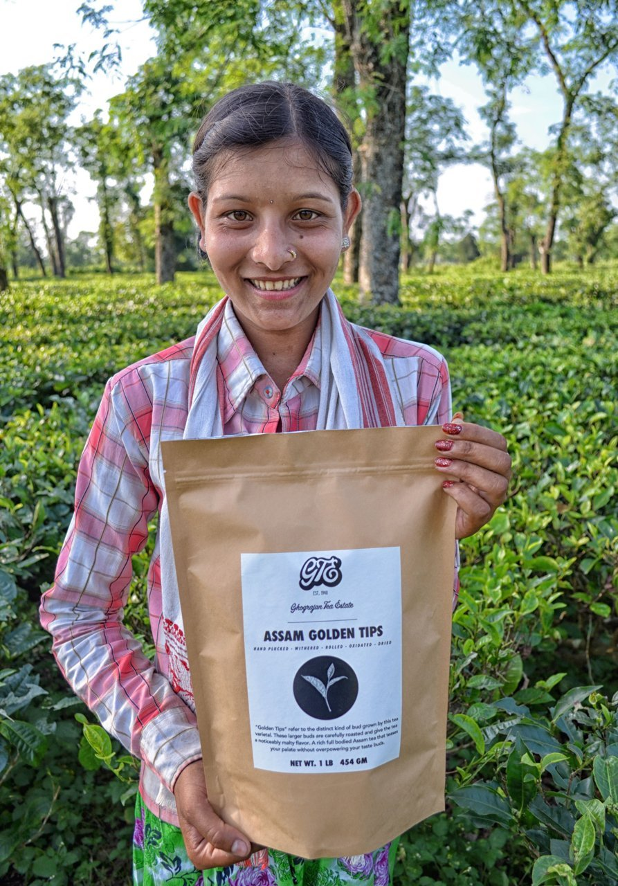 Malty, Full Bodied Breakfast Tea - Directly Shipped from our Family-Owned Estate in Assam, India