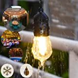 EAGWELL 49Ft LED Outdoor String Lights, Commercial