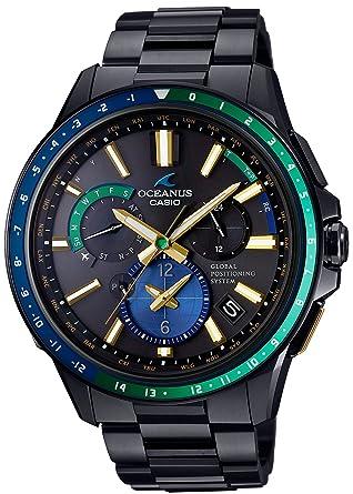 fb85bcee84 [カシオ]CASIO 腕時計 OCEANUS GPSハイブリッド電波ソーラー OCW-G1100E-1AJF メンズ