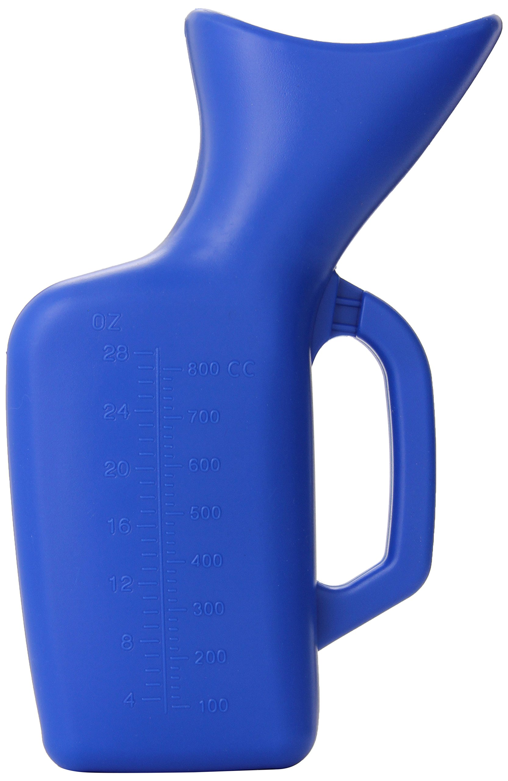 Lumex Female Portable and Reusable Plastic Urinal,  Blue, 28-Ounce Capacity
