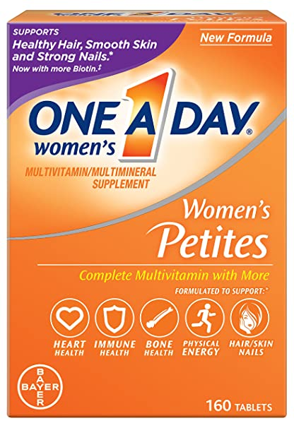 One-A-Day Petites completa de la mujer Multivitaminas, 160-count