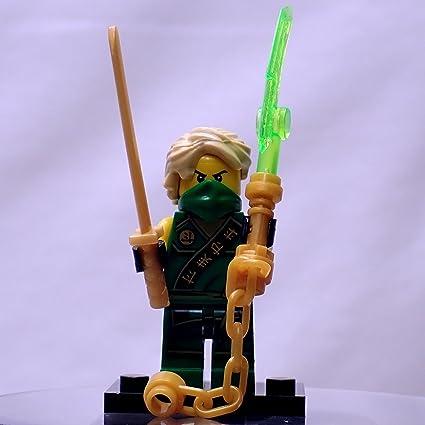 Amazon.com: MyBlockStars Green Ninja - 2nd Edition: Toys & Games