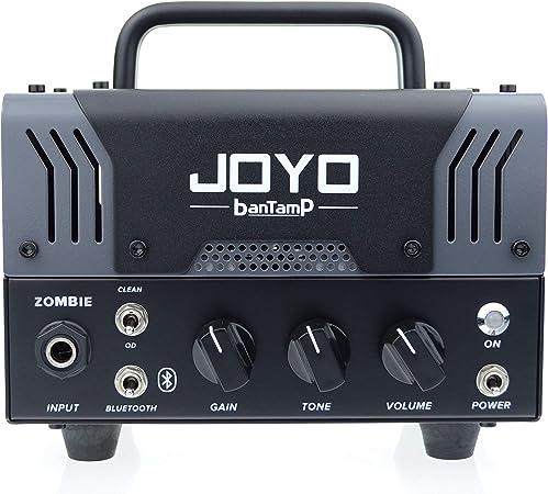 JOYO Zombie AMPLIFICATORE TESTATA BANTAMP Chitarra ELETTRICA 20 Watt 2 CANALI + RICEVITORE Bluetooth + Loop EFFETTI