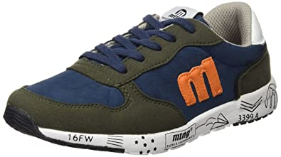 MTNG Attitude 69918, Zapatillas infantil, Multicolor (Raspe Kaky/Nylon Marino), 32