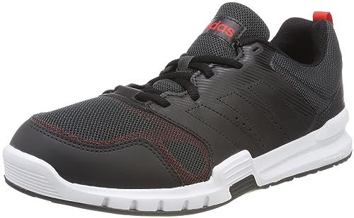 adidas Essential Star 3 M, Scarpe da Fitness Uomo, Nero (Cblack/Hirere), 44 2/3 EU