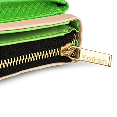 Amazon.com: Vangoddy – Venice Mujer cartera Cluth carcasa ...