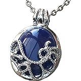 InspirŽ TV Vampire Diaries bleu collier pendentif