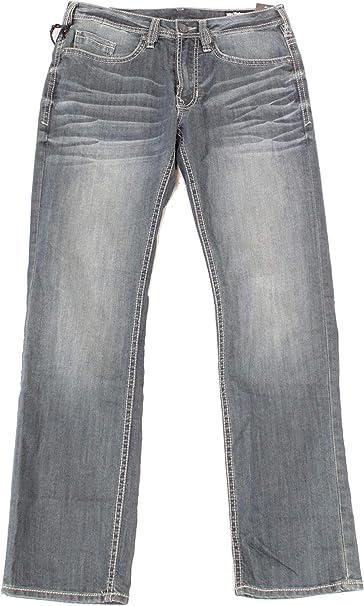 Buffalo David Bitton Mens Driven X Relaxed Straight Fit Jean